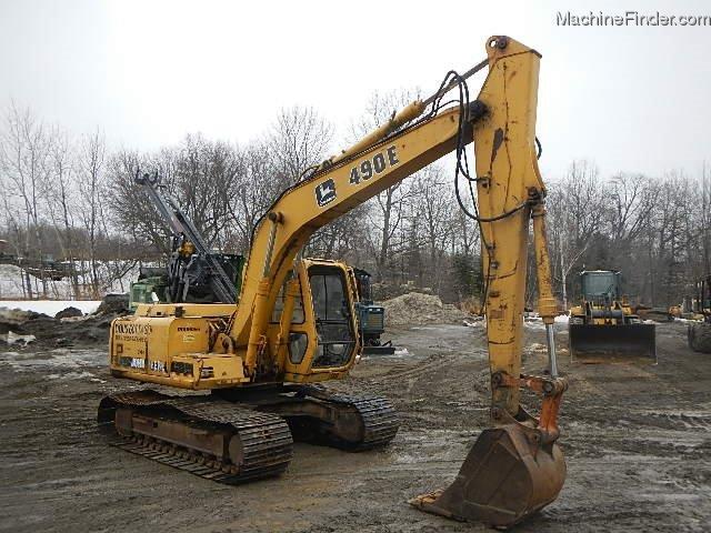 1995 John Deere 490E Excavator - John Deere MachineFinder