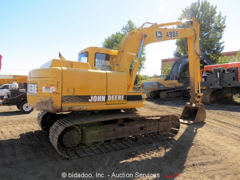 John Deere 490E Hydraulic Excavator 4045T Turbo Diesel ...