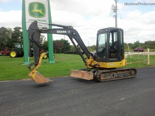 2008 John Deere 50D Compact Excavator - John Deere ...