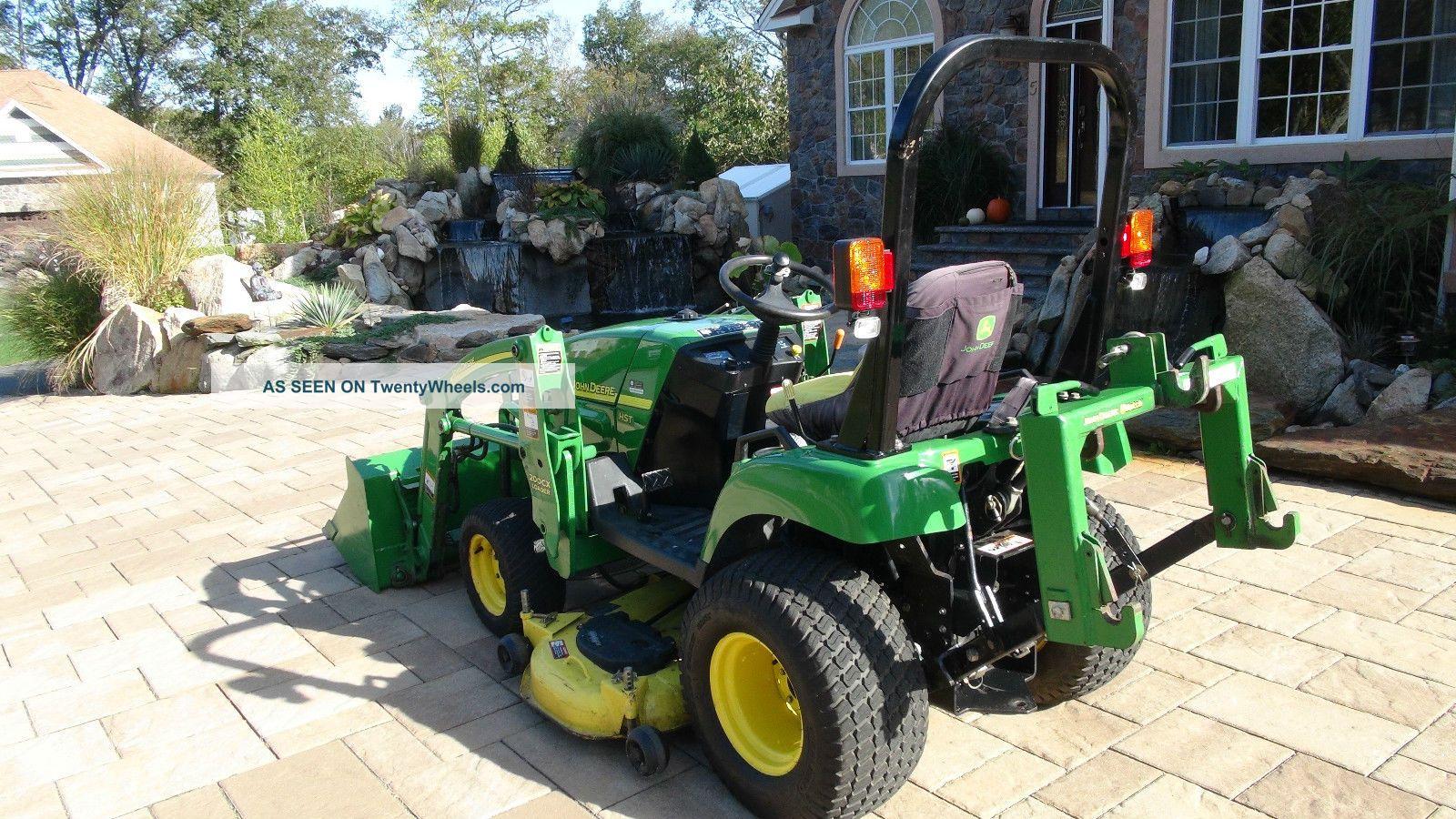 John Deere 2305 4x4 Diesel Tractor Loader 54