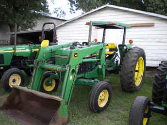 Used Farm Tractors for Sale: John Deere 2555 W/540 Loader ...