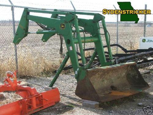 1996 john deere 540 self leveling loader