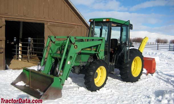 TractorData.com John Deere 5500 tractor photos information