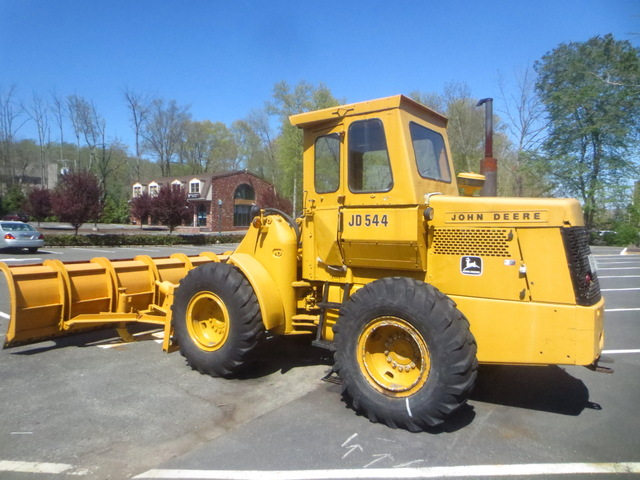 John Deere Wheel Loader 544 w 14ft Plow and GP Bucket ...
