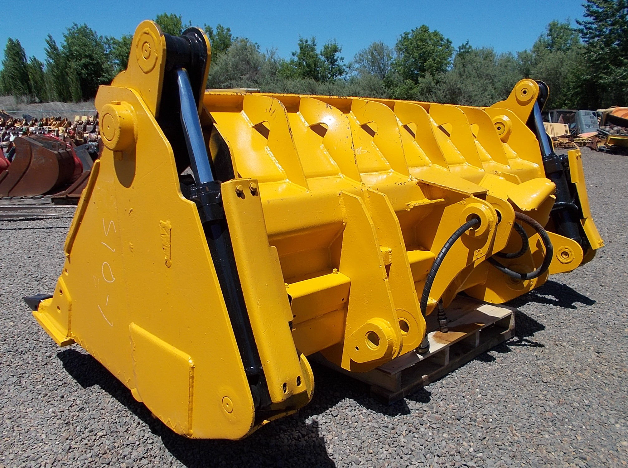 Hunt Tractor - Used 103 John Deere 544E Pin-On 4-1 Loader ...
