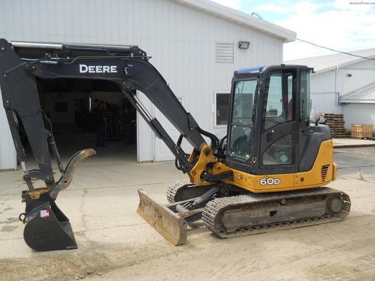 2008 John Deere 60D Compact Excavator - John Deere ...
