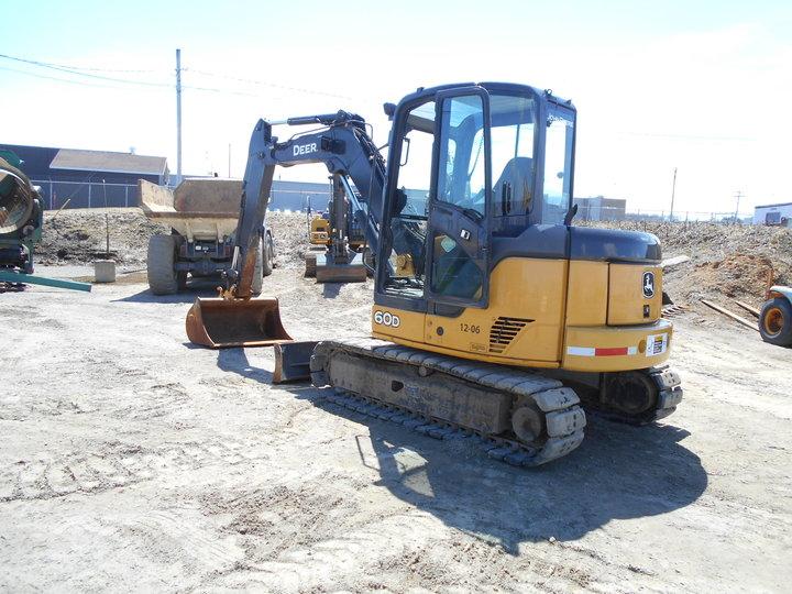 Mini Excavator 2014 John Deere 60D