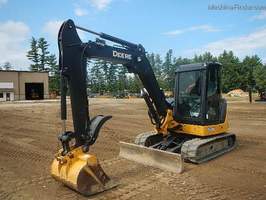2012 John Deere 60D Compact Excavator - John Deere ...