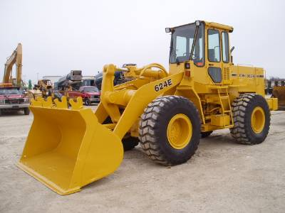 John Deere 624E Wheel Loader