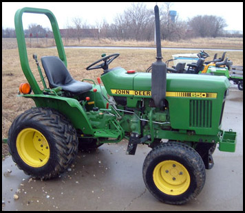 John Deere 650 Attachments - Specs