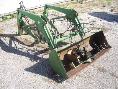 Bucket/Loader for JD 650 revisited - Yesterday's Tractors