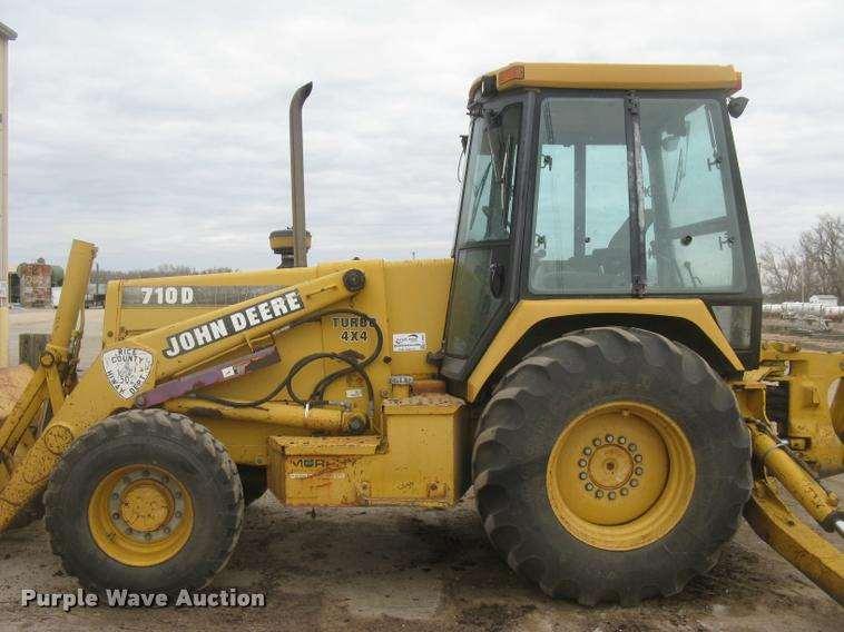 1995 John Deere 710D backhoe For Sale, 9,783 Hours | Lyons ...