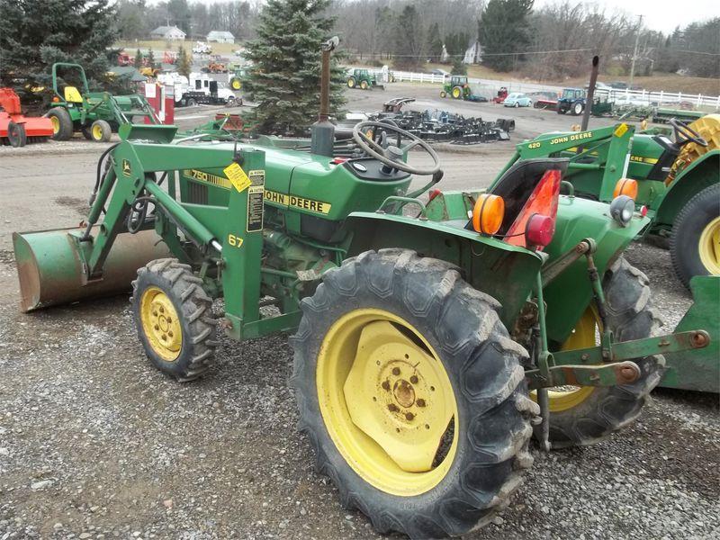 1983 John Deere 750 Tractor M-NOLAN FARMS, INC. LAPEER ...