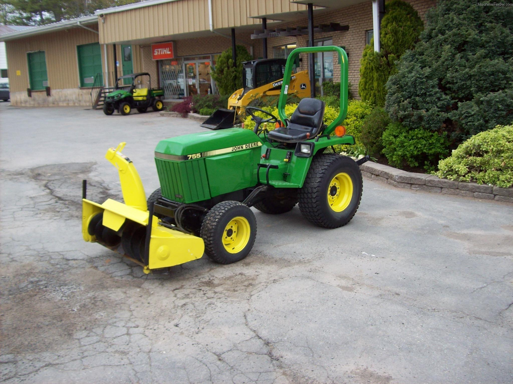 1989 John Deere 755 Tractors - Compact (1-40hp.) - John ...