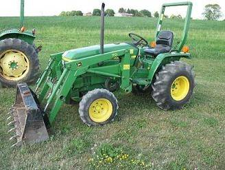 Sell 1994 JOHN DEERE 770 TRACTOR MODEL 70 LOADER 4WD 1960 ...