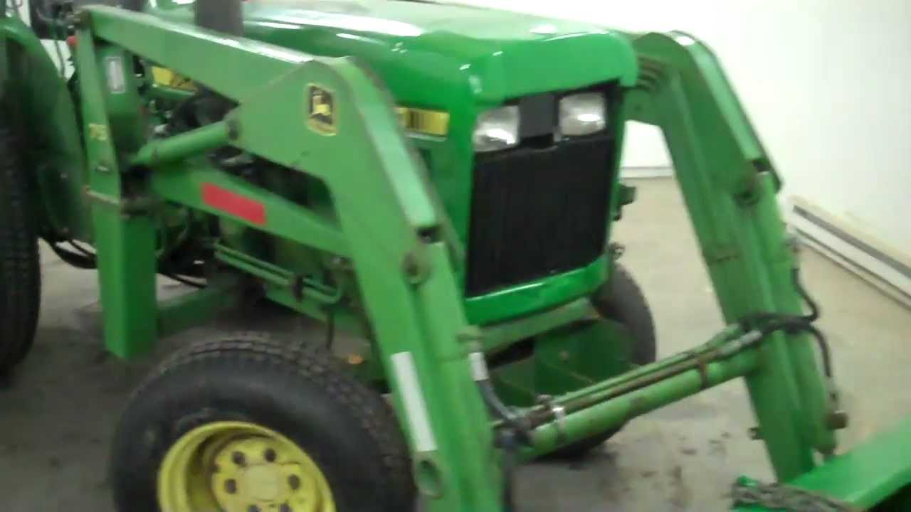 SOLD MN! 1986 John Deere 850 compact tractor and loader ...