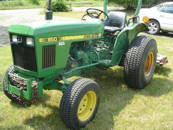 1985 John Deere 850 Tractors - Compact (1-40hp.) - John ...