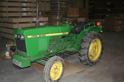 John deere 850 tractor 22HP diesel w/many attachments