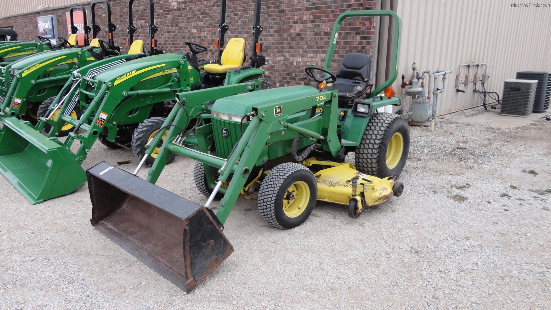 1992 John Deere 855 Tractors - Compact (1-40hp.) - John ...