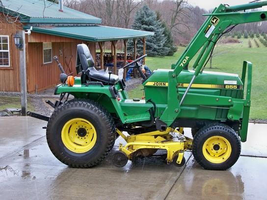 1998 John Deere 855 Tractors - Compact (1-40hp.) - John ...