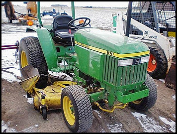 John Deere 870 Attachments - Specs