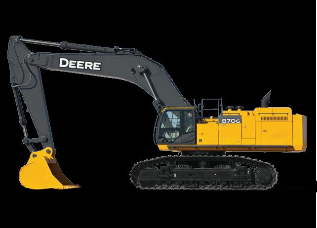 Production-Class Excavator | 870G LC | John Deere US