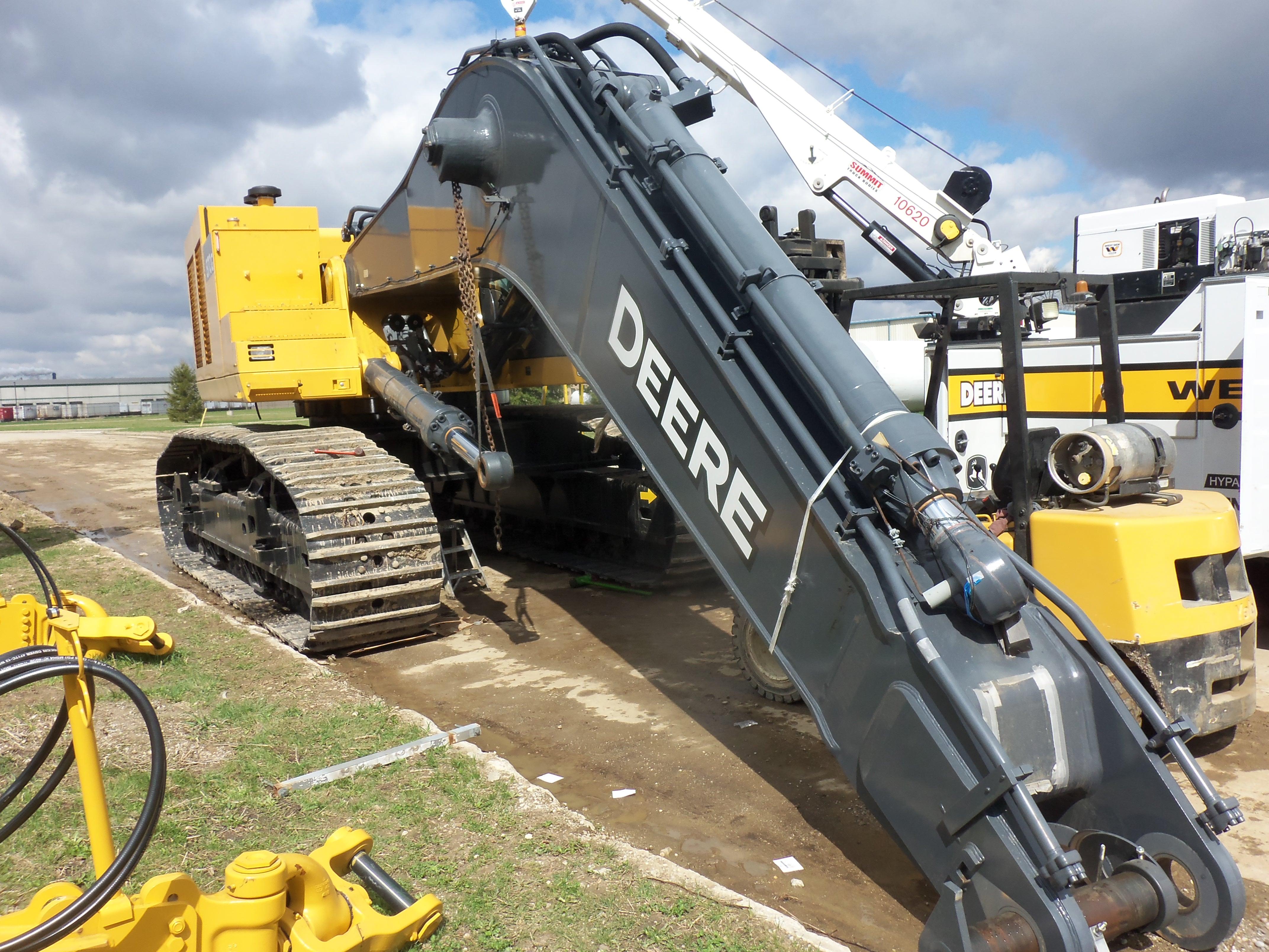 532hp John Deere 870G LC excavator | Tractors | Pinterest ...