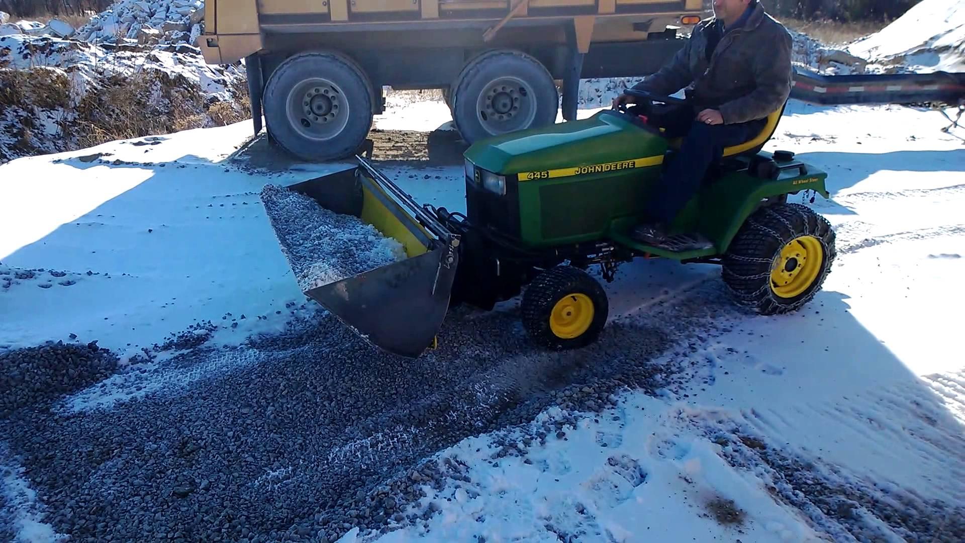 John Deere 54 inch Plow Bucket - YouTube