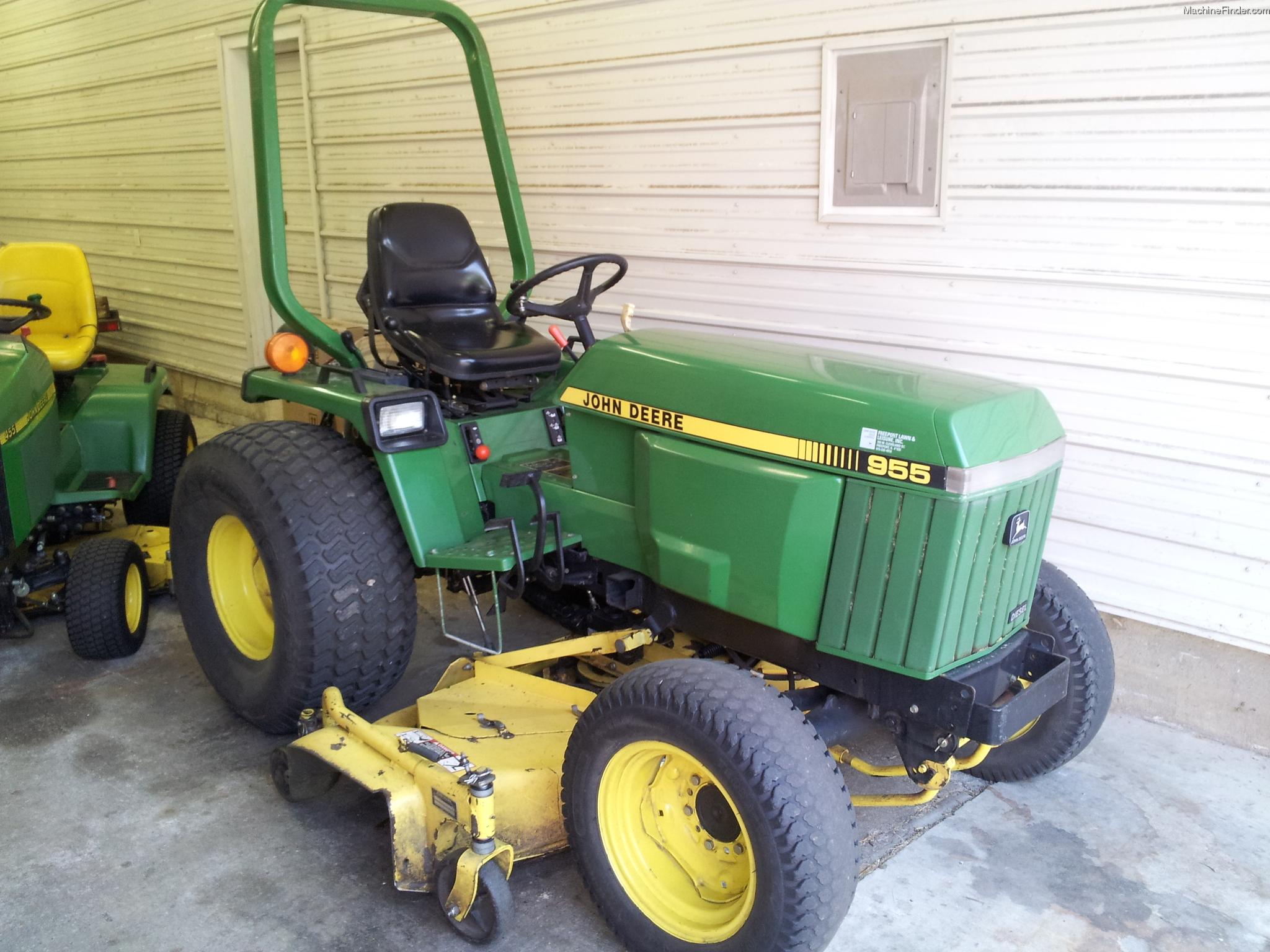 1997 John Deere 955 Tractors - Compact (1-40hp.) - John ...