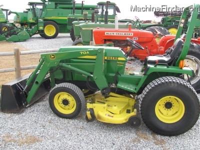1990 John Deere 955 Tractors - Compact (1-40hp.) - John ...