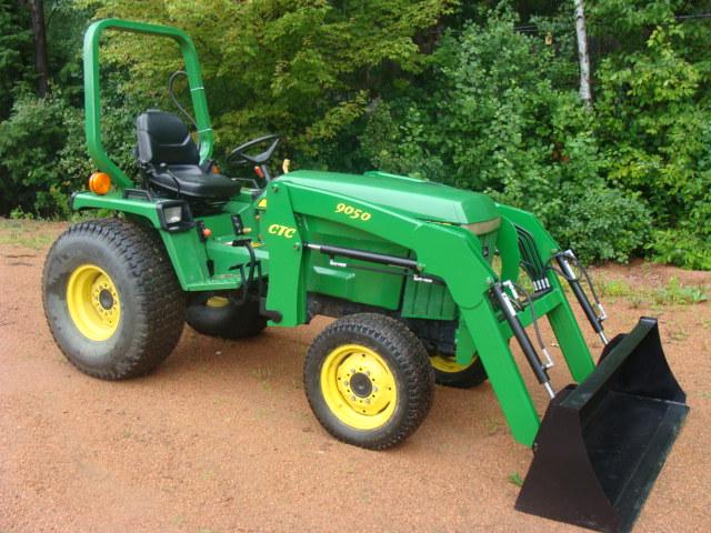 JOHN DEERE 855 955 front end loader