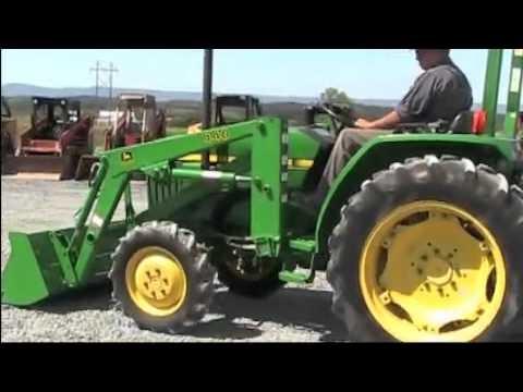 John Deere 970 Tractor 4400 Loader 4x4 - YouTube