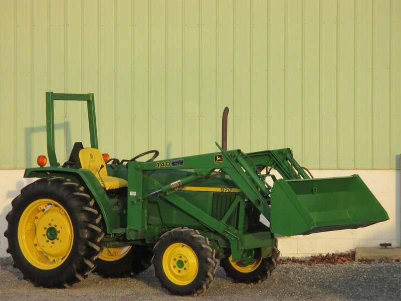 1995 John Deere 970 Tractor #M00970B140629 BURKHOLDER ...