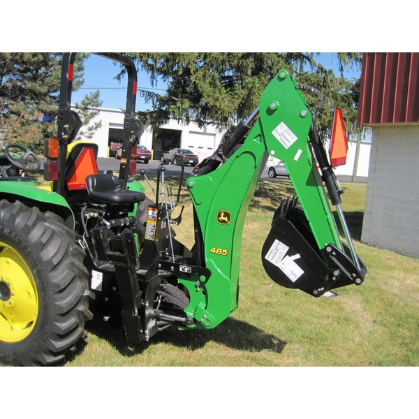 John Deere 485 Backhoe | Mutton Tractor Attachments - Fort ...