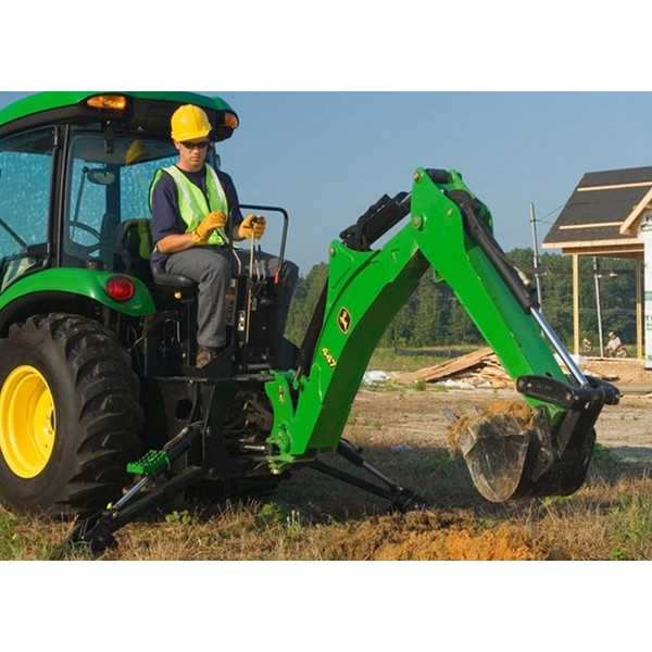 John Deere 375 Backhoe Attachment | Mutton Power Equipment