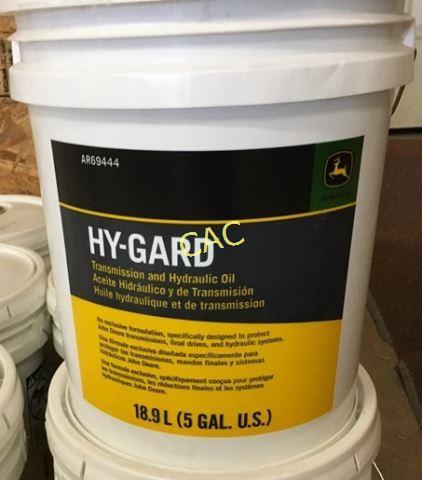 5 Gallon Bucket John Deere Hy-Gard Tran/Hyd Oil
