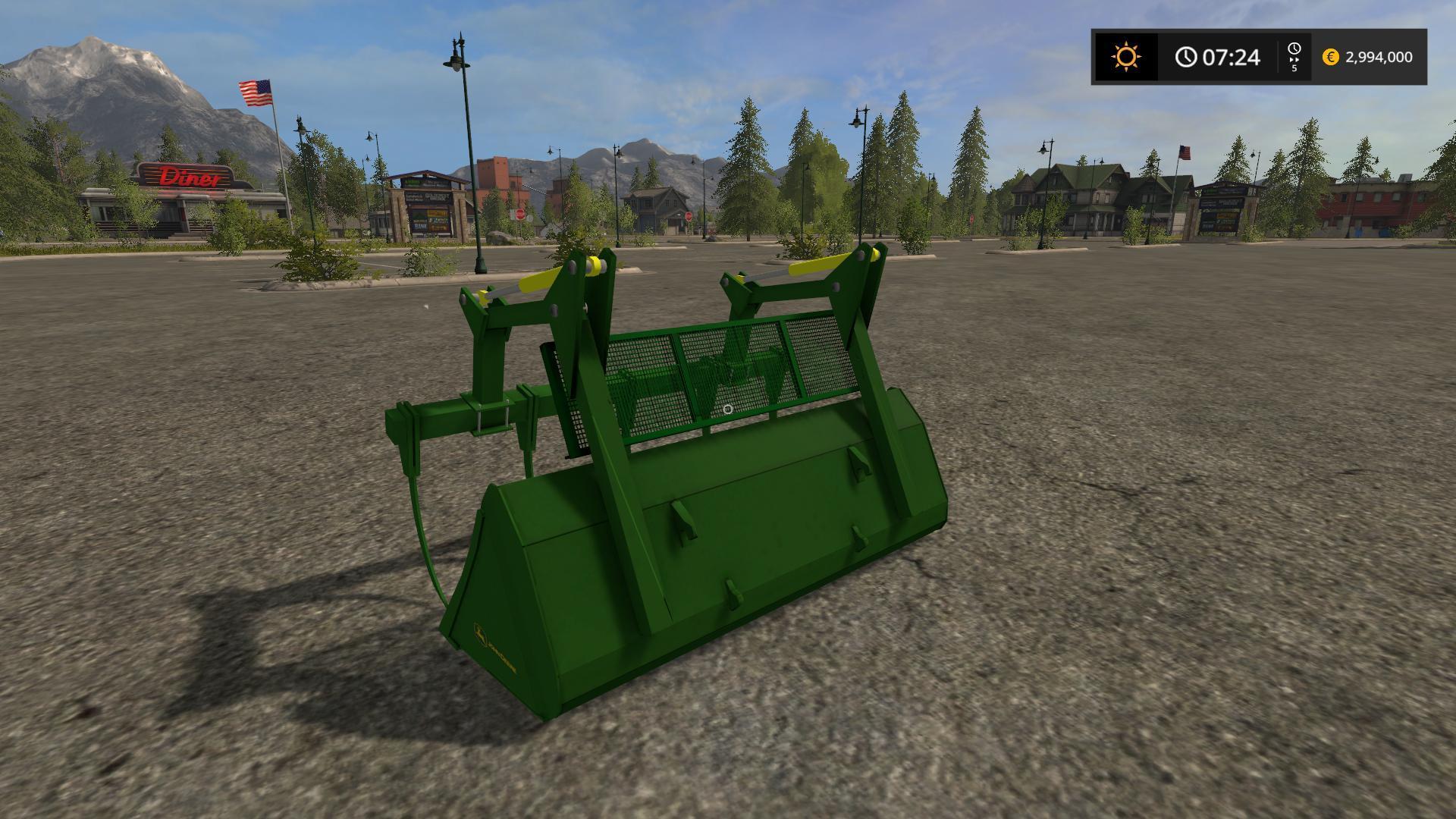 John Deere H480 & bucket V 1.0 FS2017 - Farming Simulator ...