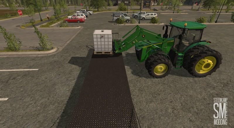 JOHN DEERE H480 & BUCKET V1.0   Farming simulator 2017 ...