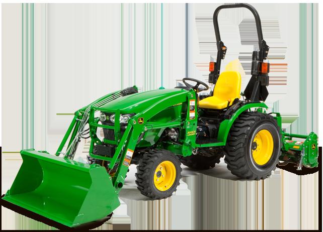 2017 John Deere 2032r / 2038r Highlights - Tractor Time ...