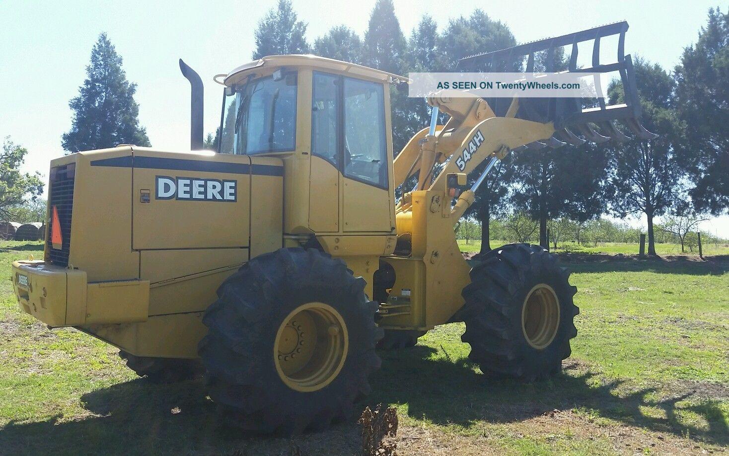 544h John Deere Wheel Loader +bucket Call 352 274 5845