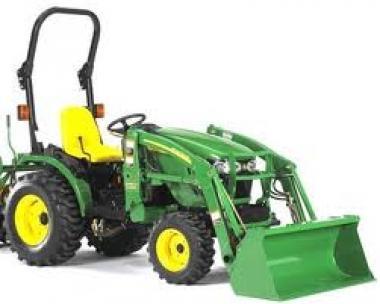 Tractor W/ Front Loader- John Deere 3320, 33 HP, 4WD ...