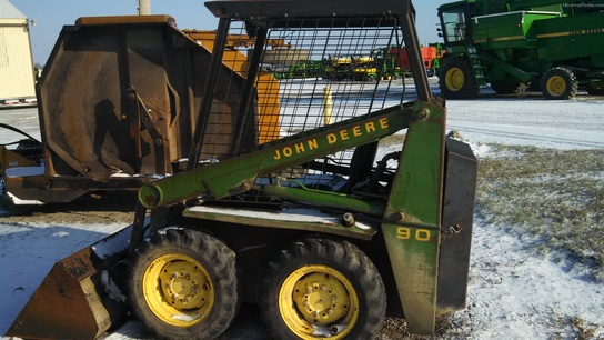 1980 John Deere 90 Skid Steer Loaders - John Deere ...