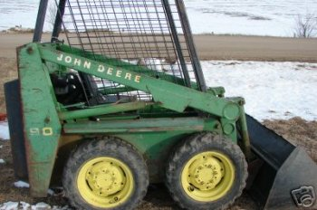 John Deere 90 Skid Loader Repower