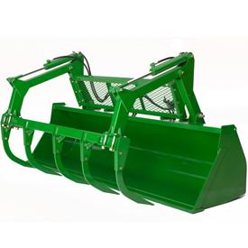 Heavy-duty buckets 2450 mm (96 in.) and 2750 mm (108 in.)