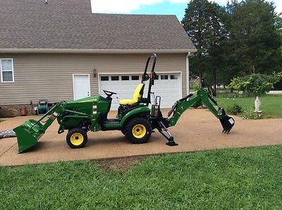 2015 John Deere 1025r Compact Utility 4x4 Tractor Loader ...