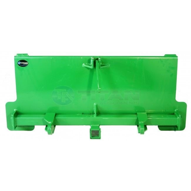 3 Point Attachment Adapter fits John Deere trailer hitch ...