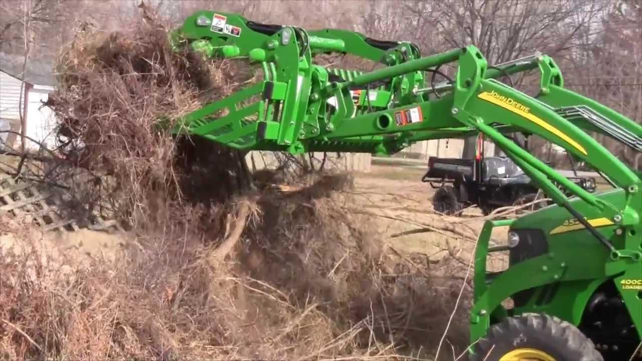 John Deere Grapple Bucket Overview - YouTube