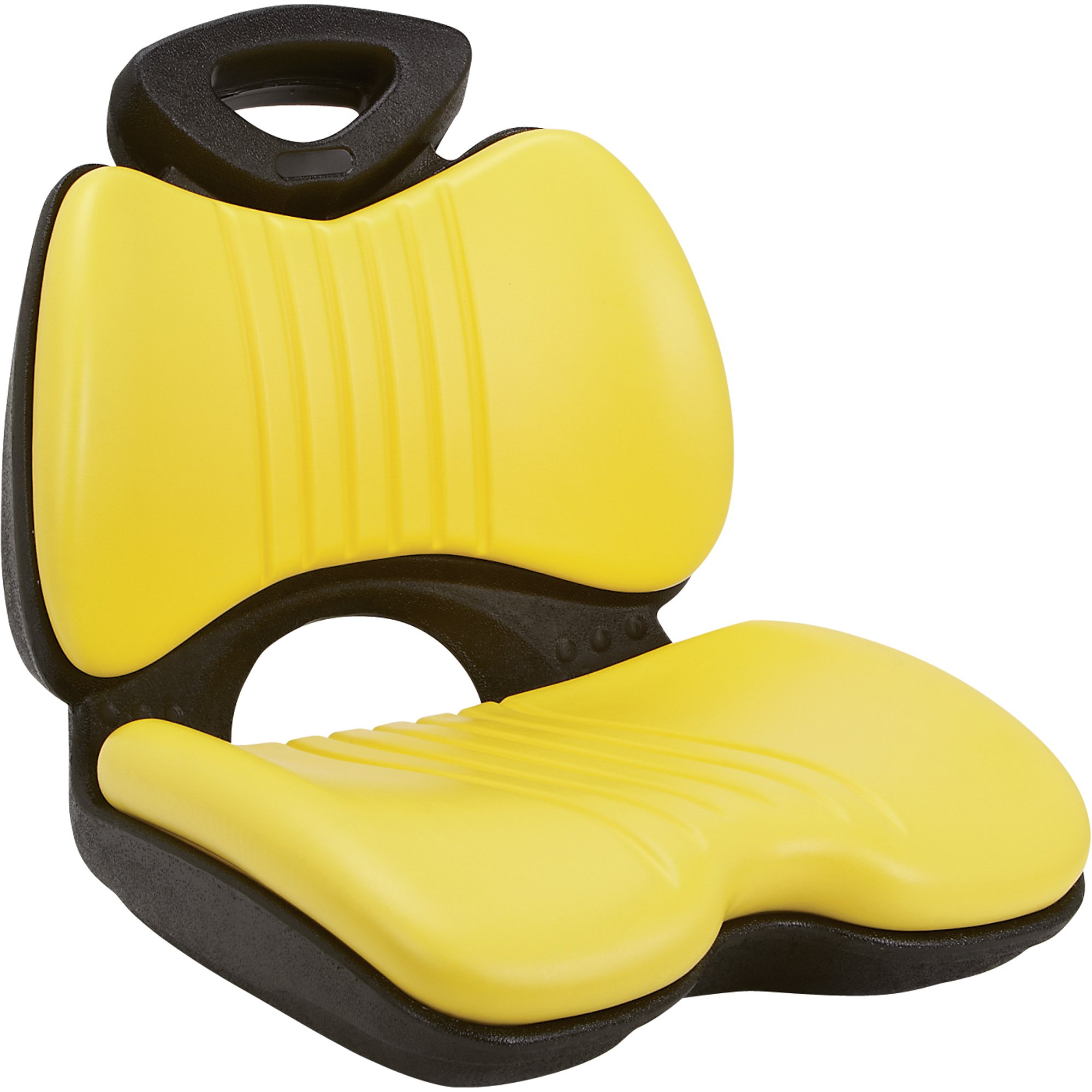 K & M Comfort Formed Lawn/Garden Tractor Seat — Yellow ...