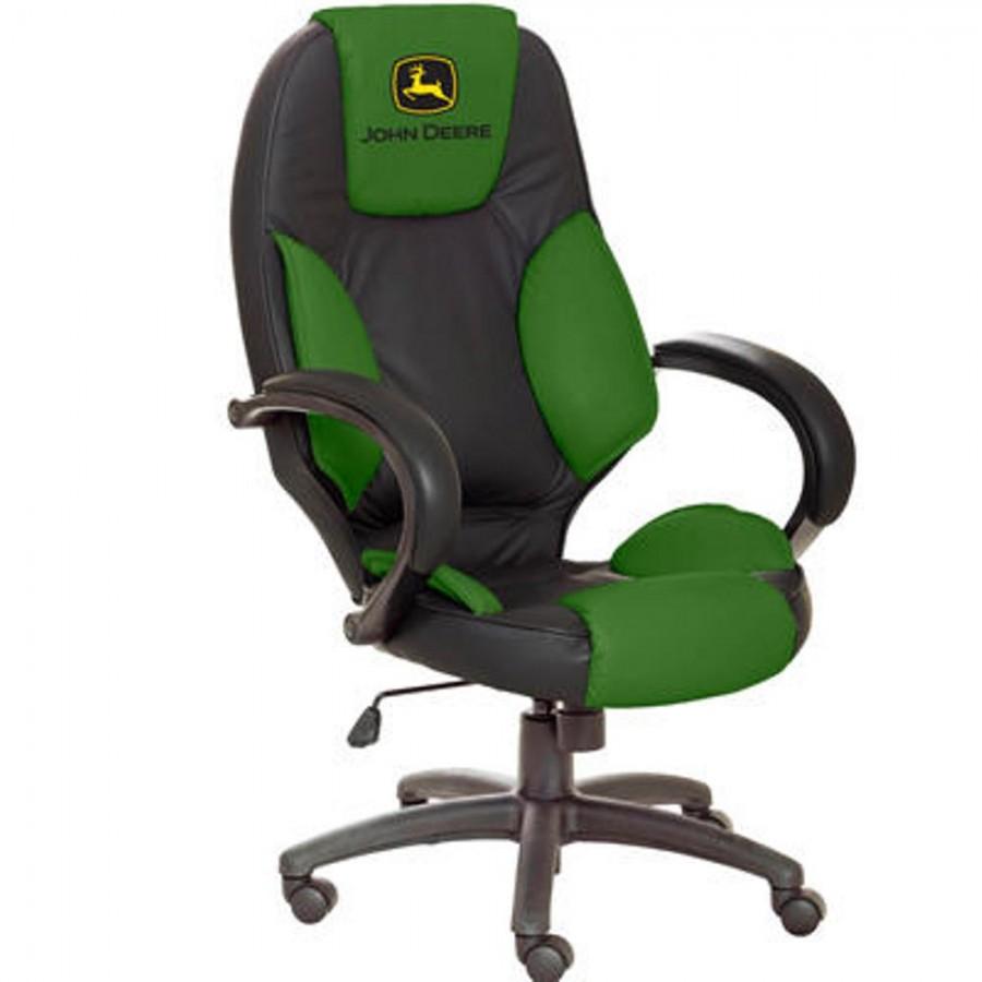 John Deere Leather Desk Chair | RunGreen.com