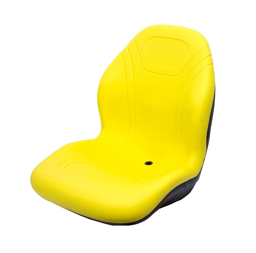 K&M Mfg John Deere KM 129 Uni Pro Bucket Seat - Yellow ...